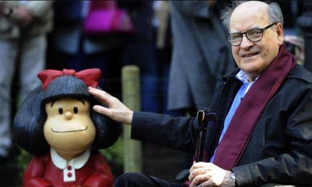 Pesar en Argentina: murió Quino, el icónico creador de Mafalda