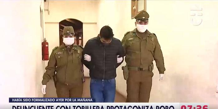Delincuente fue dejado en libertad con tobillera y a las 12 horas fue detenido de nuevo
