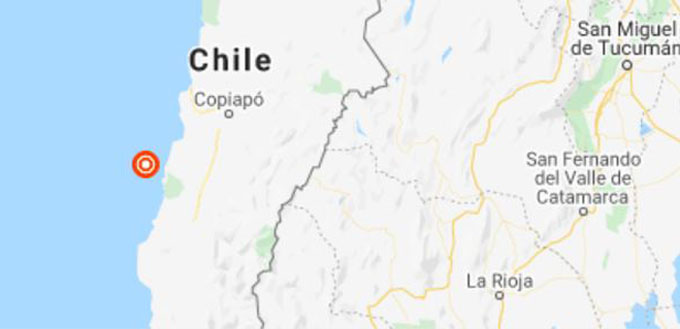 Un nuevo sismo de mediana intensidad se registra en la zona norte del país