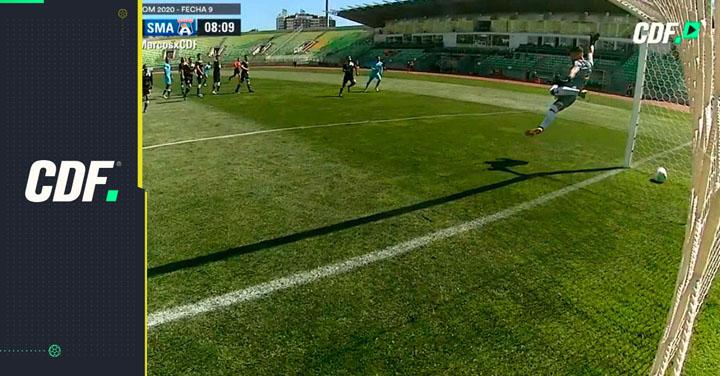 Insólito papelón en la Primera B: el increíble gol que no le cobraron a San Marcos de Arica