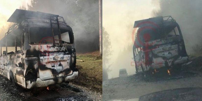 Atacan con perdigones furgón forestal en Tirúa: dos trabajadores heridos