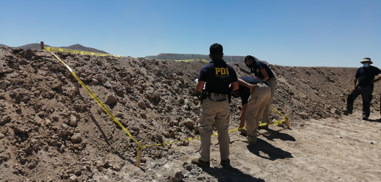 Macabro: trabajadores se toparon con osamentas humanas durante obra vial