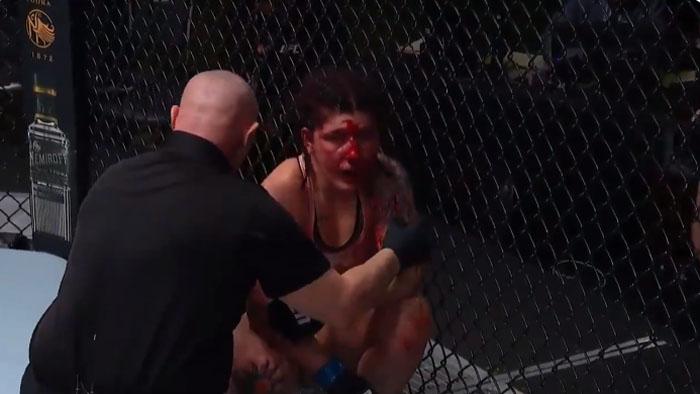 Gajes del oficio: el brutal nocaut a luchadora de la UFC  que iba a casarse en tres semanas