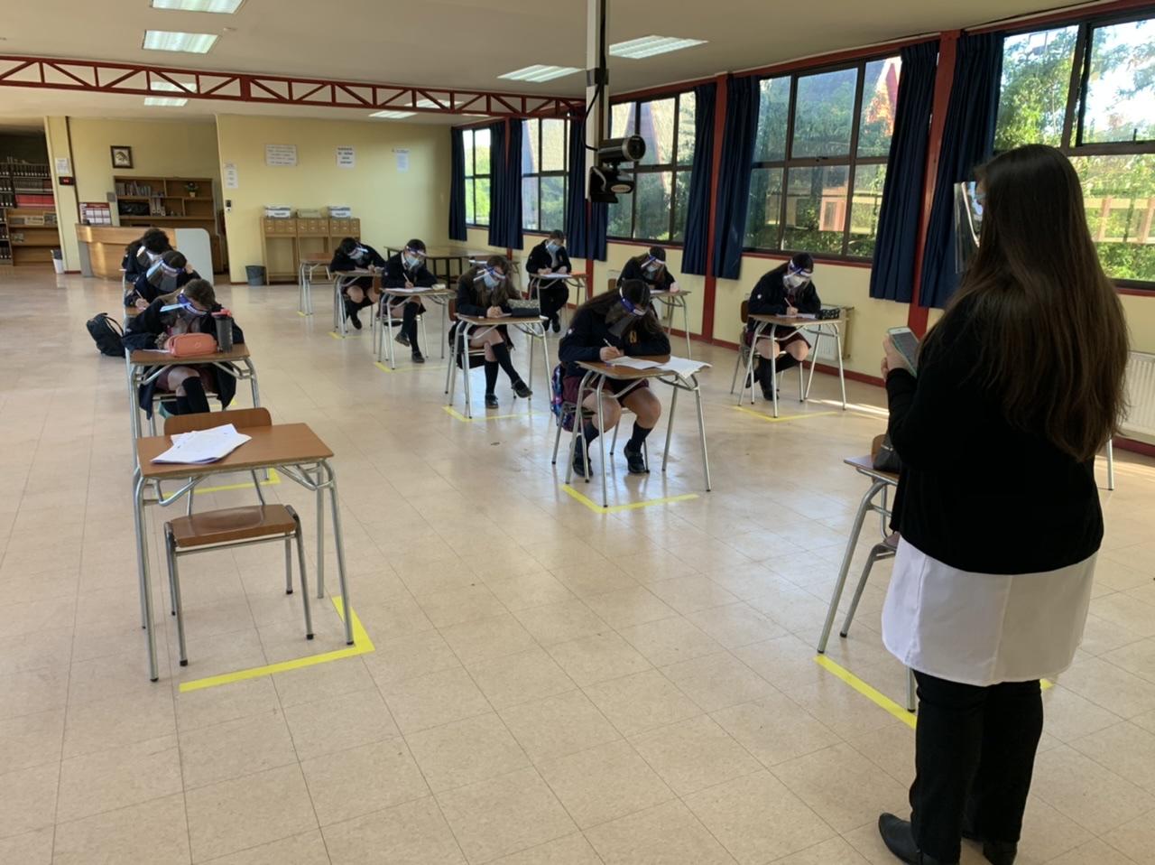 Los Ángeles: Liceo Alemán es el primer recinto del Biobío en regresar a clases