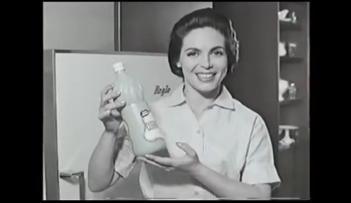 'Perturbador': antiguo comercial de cloro se viraliza por insólitas recomendaciones