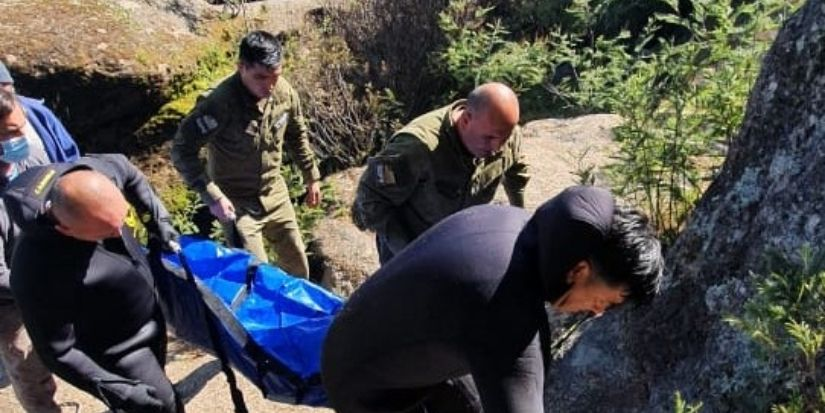 Vecino de Nacimiento fue encontrado muerto en río al que fue con su hermano