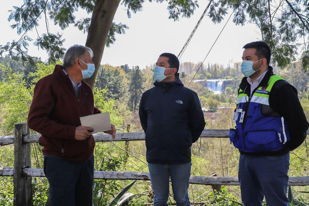 Verano 2021: Autoridades buscan reactivar el comercio en Saltos del Laja