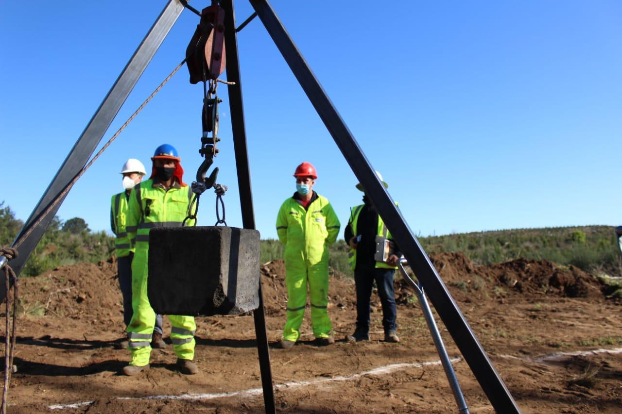 Inician obras de reposición del Puente Duqueco que unirá Santa Bárbara y Quilleco