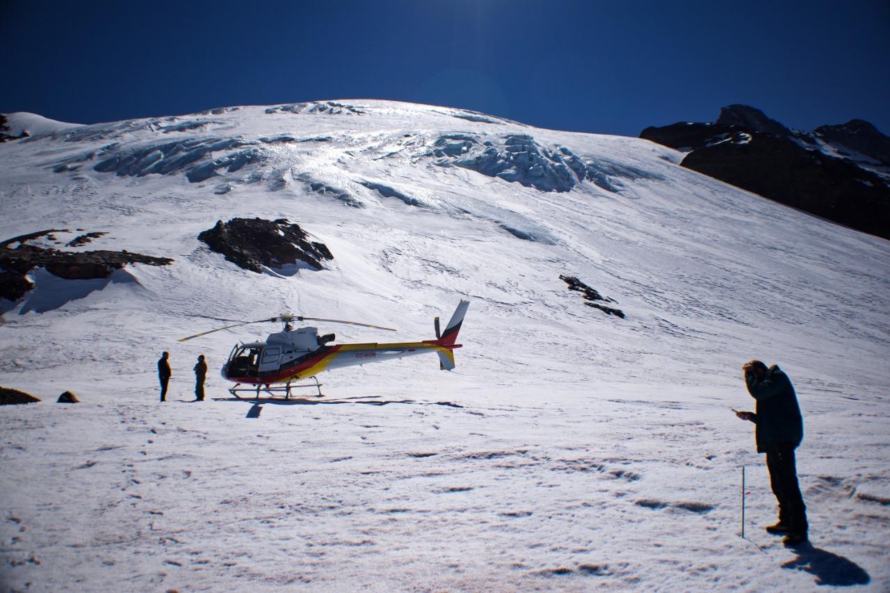 Glaciares en Biobío: Gobierno busca instalar red de monitoreo para mejorar gestión hídrica