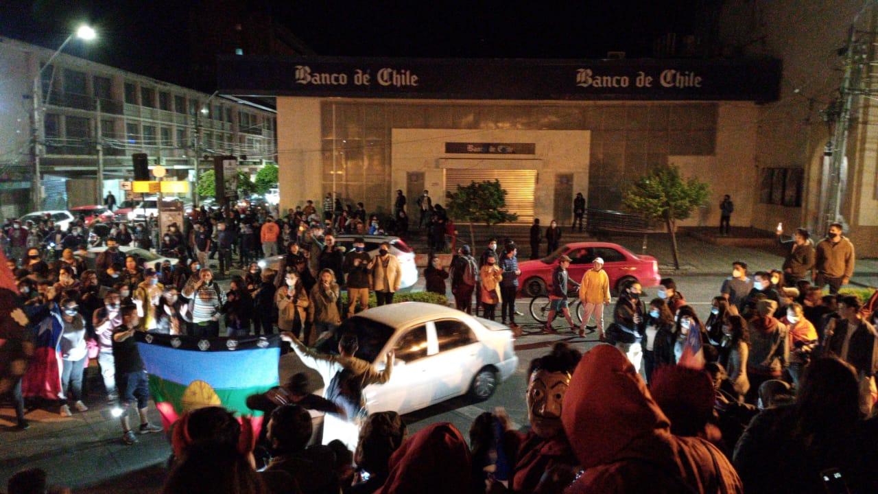 Galería: Así fue la celebración en la Plaza de Armas de Los Ángeles
