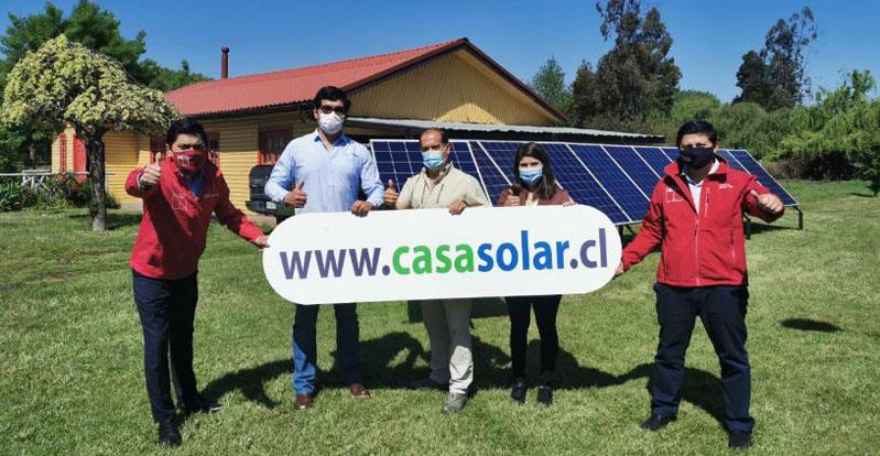 Casa Solar llegó al Biobío: postula al proyecto que permite ahorrar 25 mil pesos diarios en luz
