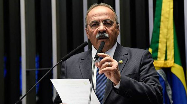 Senador brasileño escondió dinero 'entre sus nalgas' durante allanamiento a su casa