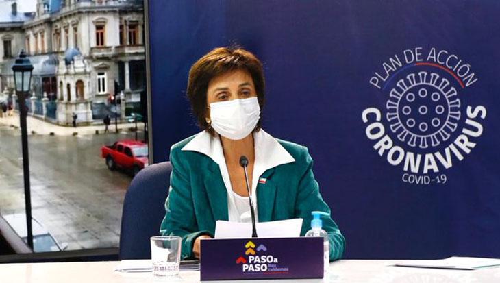 Chile suma 1.567 casos nuevos de Covid-19 y fallecidos superaron los 13 mil