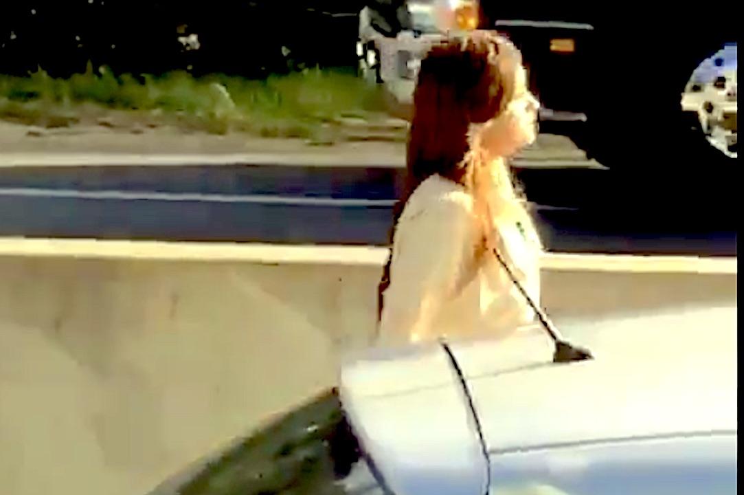 Mujer conducía ebria con dos menores por ruta Concepción – Cabrero