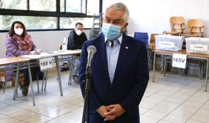Paris defiende normas sanitarias para el Plebiscito: «Han sido un éxito»