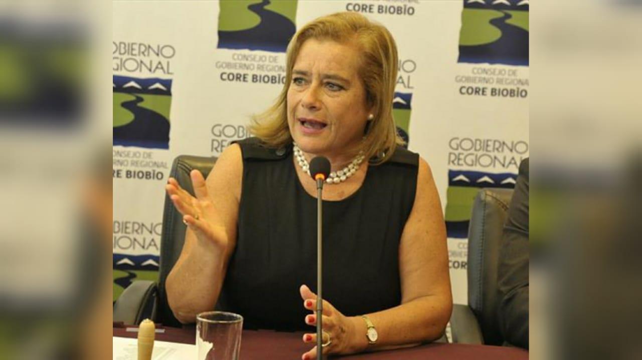 Flor Weisse renuncia a presidencia de CORE Bío Bío por candidatura a Gobernación