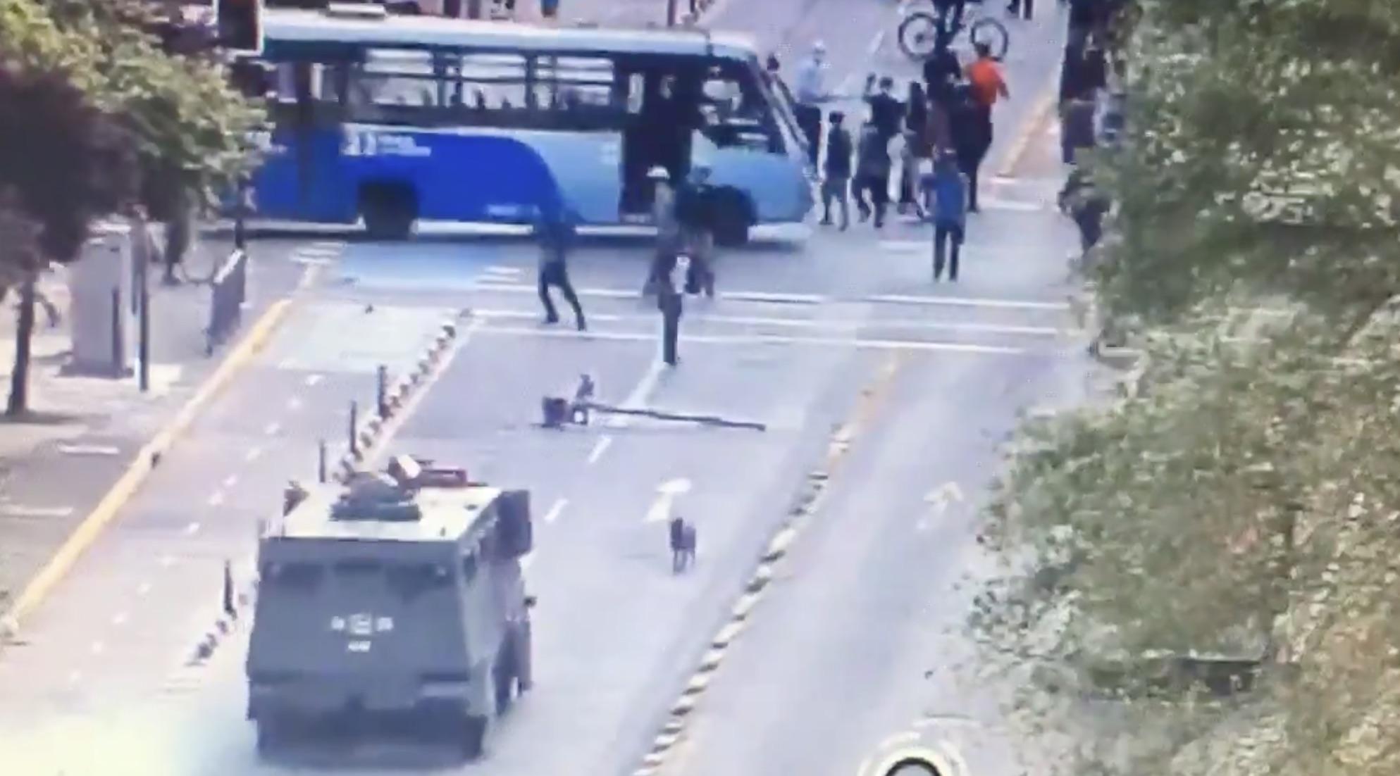 Concepción: Vandalismo y ataque a automovilistas dejan manifestaciones