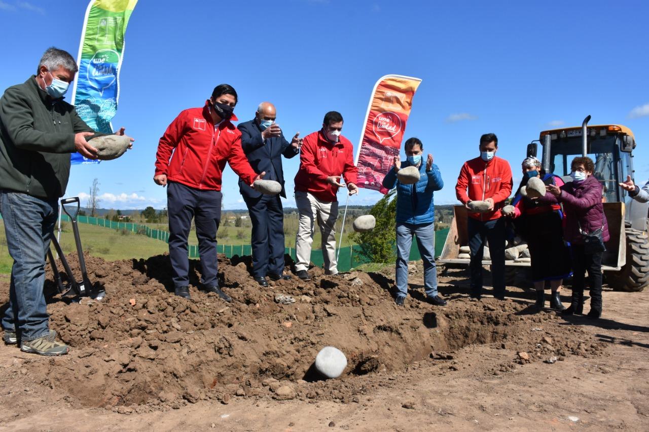 Promete empleo: retoman obras de megaparque en cerro La Virgen de Yumbel