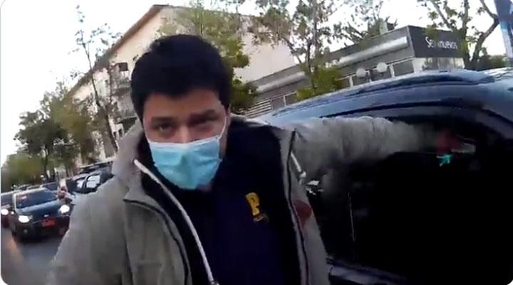Así fue el control de la PDI al Carabinero que pasó por la casa de la fiscal Chong