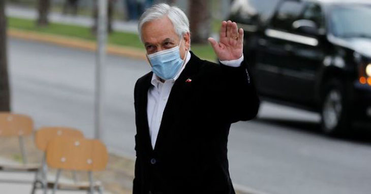 Piñera tras votar: La inmensa mayoría de los chilenos quieren cambiar la constitución
