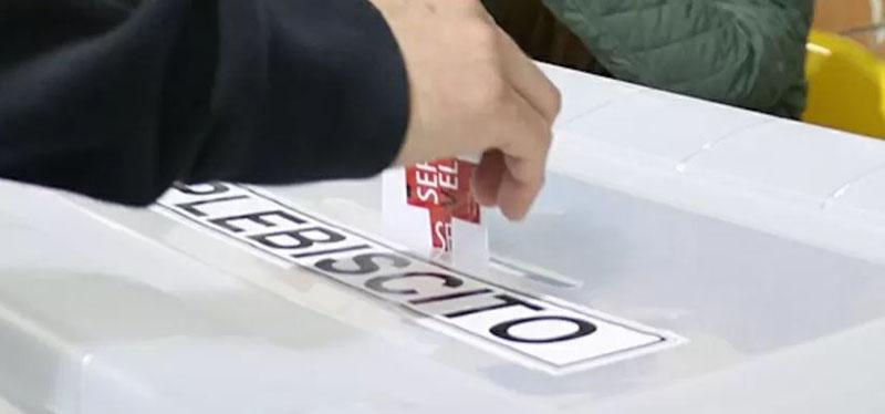 Última encuesta permitida antes del Plebiscito es categórica: reveló opción vencedora
