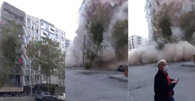 Turquía: dramáticos registros muestran colapso de edificios tras el terremoto