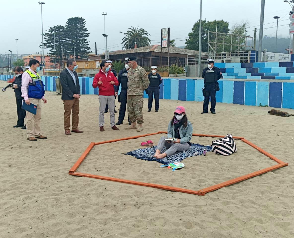 Biobío: Difunden protocolos de piscinas, parques y playas en contexto de Covid
