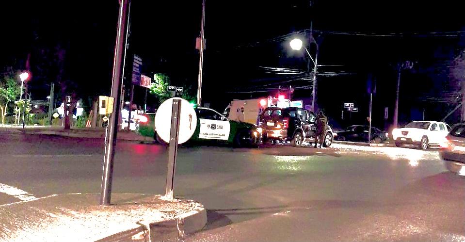 Los Ángeles: Un herido deja accidente en avenida Padre Hurtado