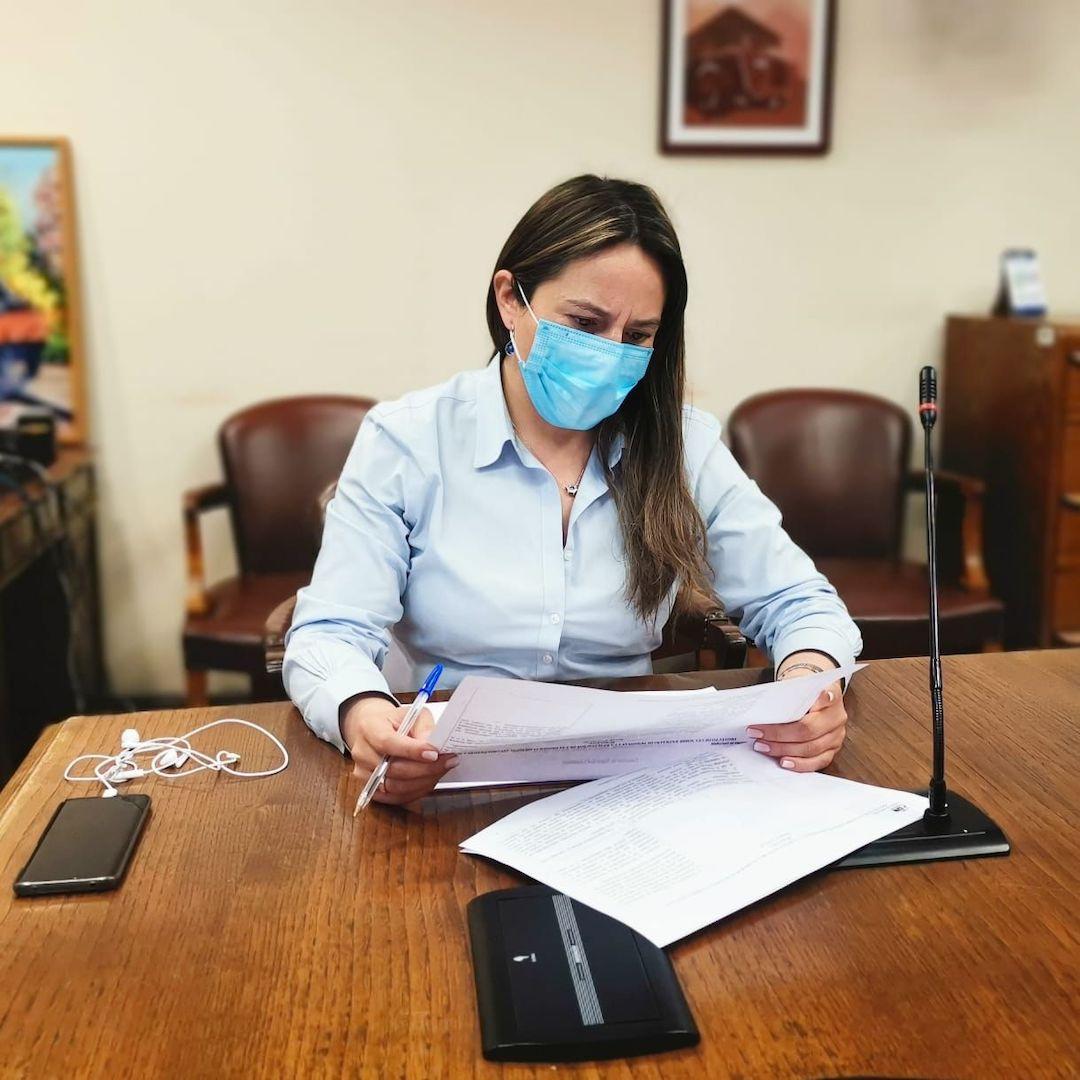 Diputada Joanna Pérez logra aprobación en indicaciones para ley de electrodependientes