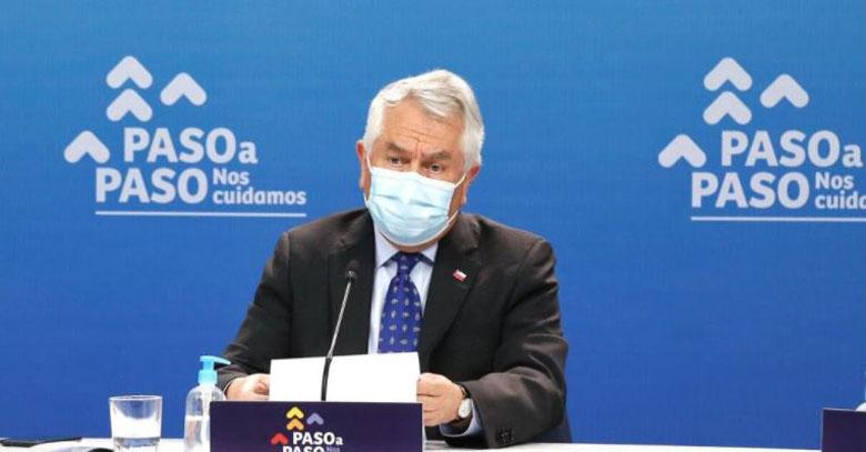 Balance Covid: Paris está 'muy preocupado' por Concepción, Talcahuano y San Pedro de la Paz