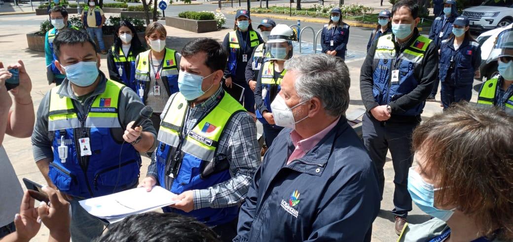 Seremi encabeza fiscalización en la provincia de Biobío: 330 mil personas confinadas