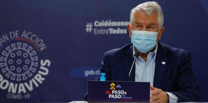 Ministro Paris condena paro nacional: «Atenta contra la salud de los pacientes»