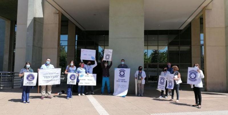 Funcionarios de la salud de L.A exigen Bono Covid: «El presidente no ha mostrado interés»