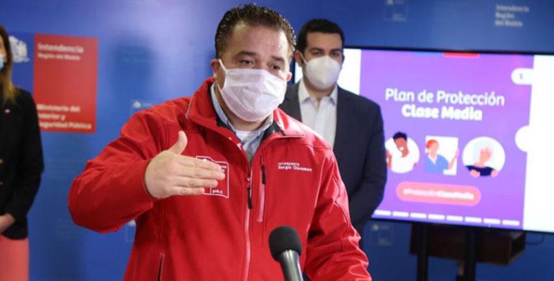 Sergio Giacaman renuncia a la Intendencia del Biobío: asume Patricio Kuhn