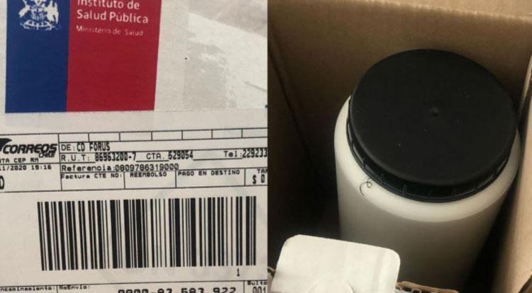 Insólito: compró zapatillas en el CyberDay y recibió una muestra de sangre del ISP
