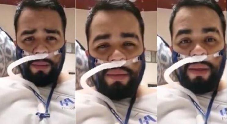 «Los volveré a ver»: el emotivo adiós de enfermero con covid antes de morir