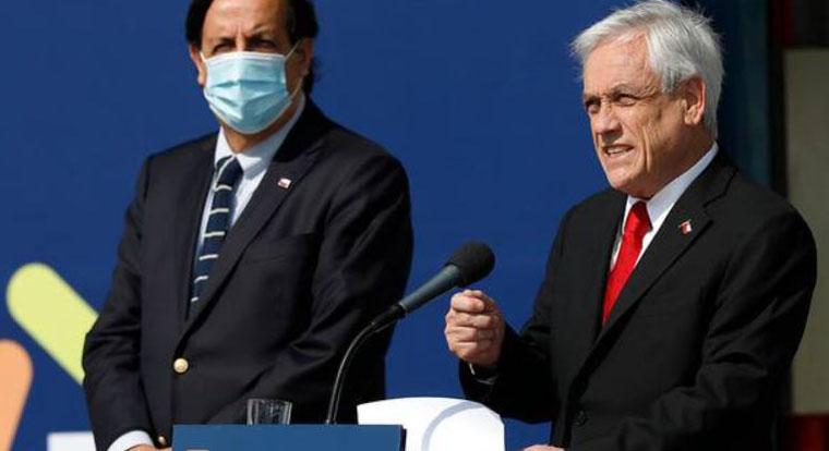 Piñera blinda a Pérez en la previa de su acusación constitucional: «Es inocente»
