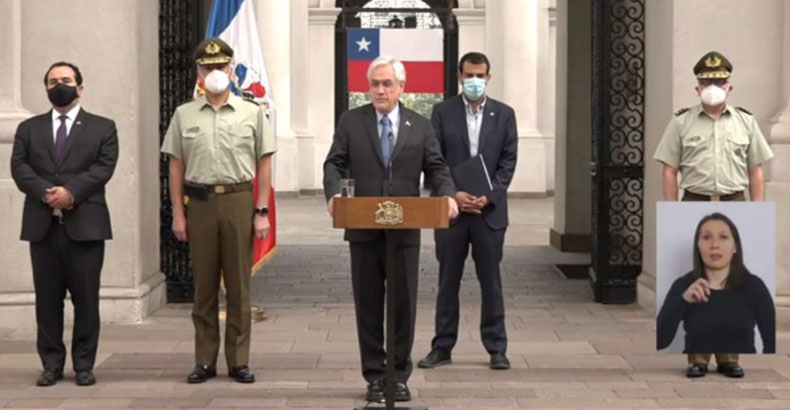 Piñera nombra a Ricardo Yáñez como nuevo General Director de Carabineros