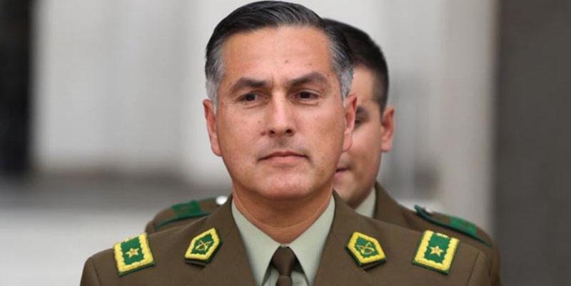 Presidente Piñera remueve a Mario Rozas como General Director de Carabineros