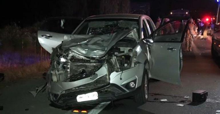 Buscan a conductor que atropelló fatalmente a 3 personas y luego se dio a la fuga