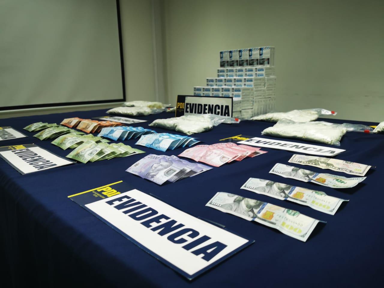 Concepción: PDI desarticula banda criminal liderada por ciudadana boliviana