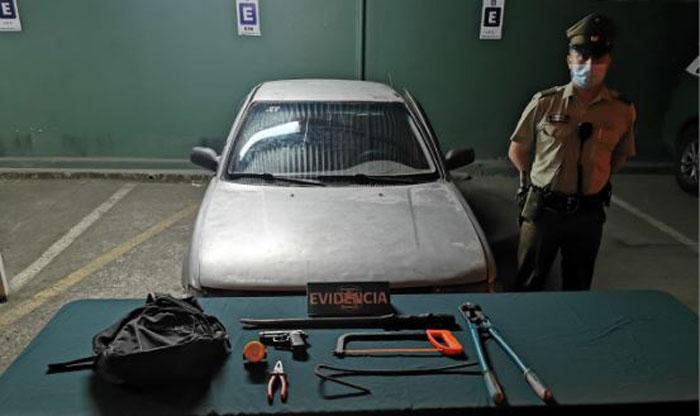 L.A: detienen a 3 sujetos que intentaban robar camiones de la Copec de la Ruta 5 Sur