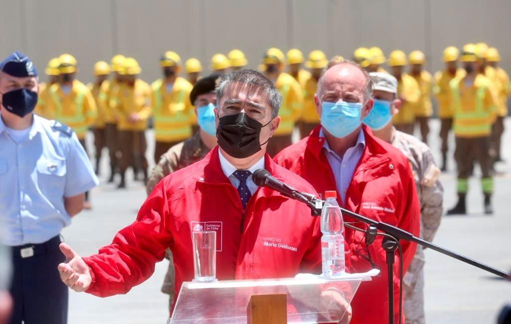 Mario Desbordes renuncia al Ministerio de Defensa Nacional