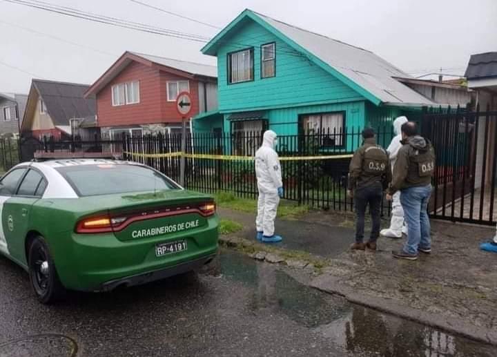 Puerto Montt: Joven de 23 años apuñaló salvajemente a su madre hasta matarla