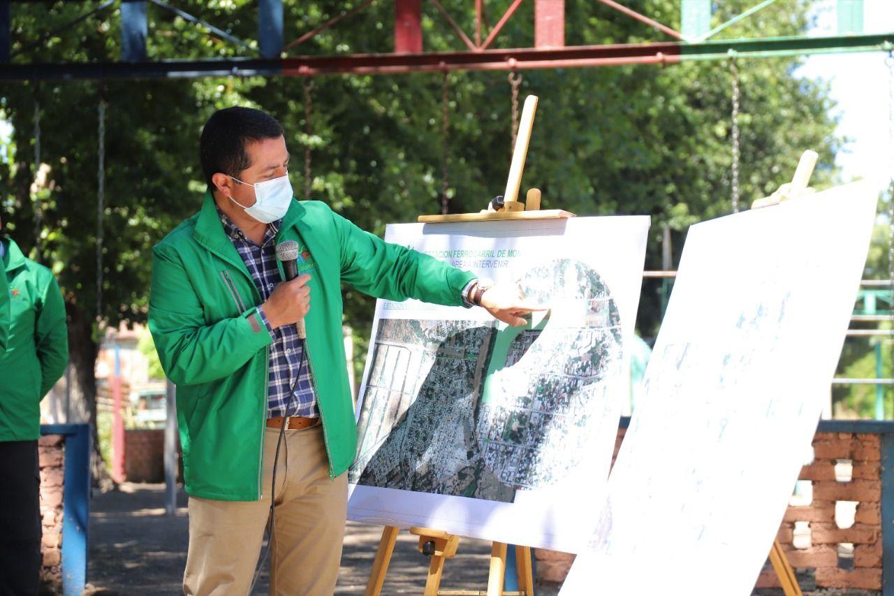 Cabrero: Inician proceso de expropiación de terrenos de EFE para proyectos públicos