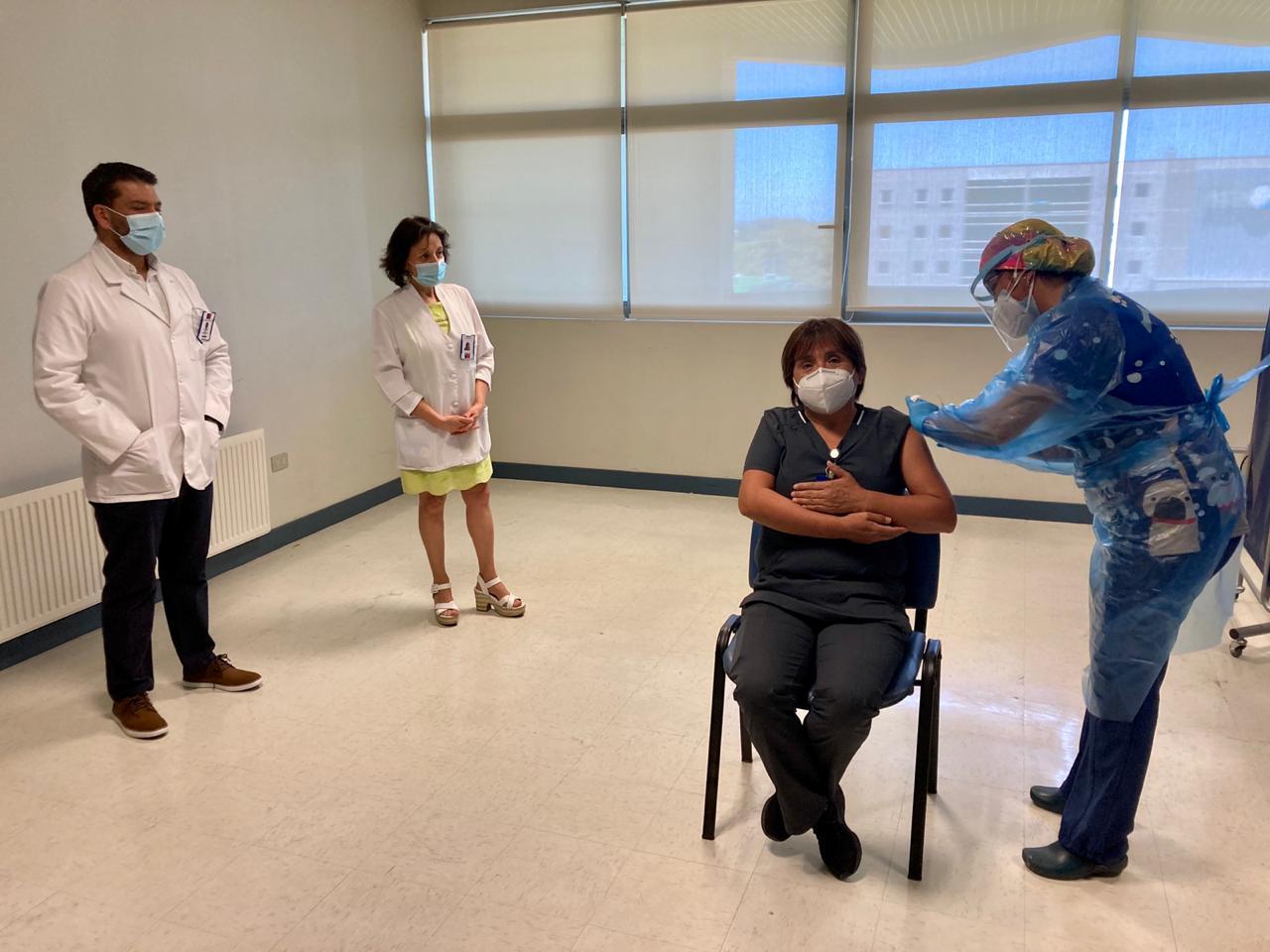 Director del Hospital de Los Ángeles y vacunación: «No hay observaciones al proceso»