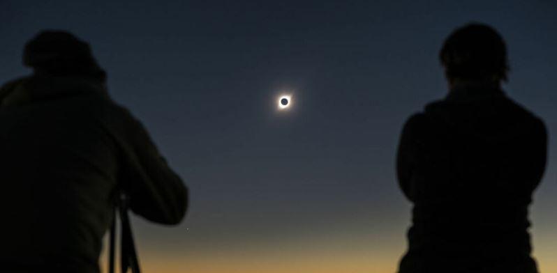 Eclipse Total de Sol 2020: revisa el tiempo, hora peak y porcentaje de visibilidad