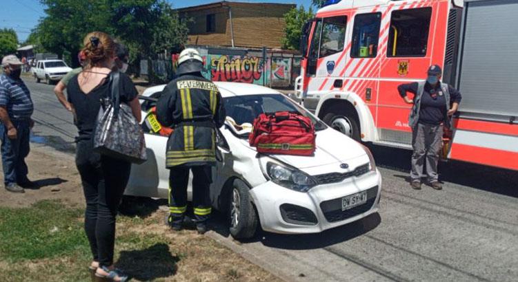Los Ángeles: colisión por alcance deja a una persona lesionada