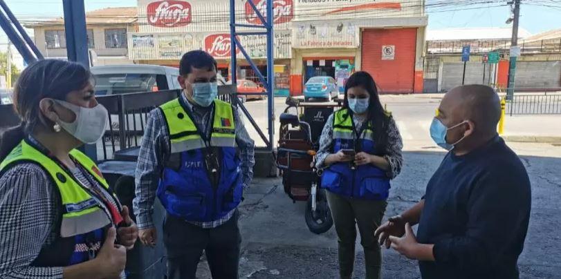 Los Ángeles: funcionaria de la salud municipal fue agredida en una fiscalización