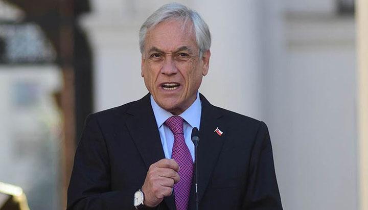 Presidente Piñera anuncia extensión del Estado de Catástrofe en el país